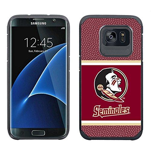 NCAA Florida State Seminoles True Grip Football Pebble Grain Feel Samsung Galaxy Alternate S7 Edge Case