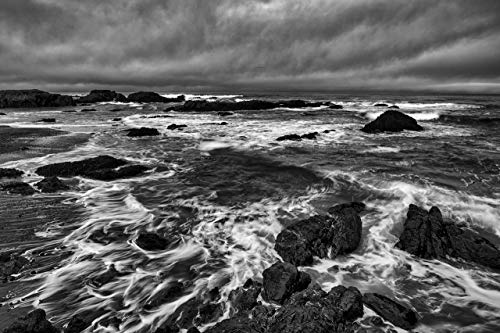 This 11x17 Fine Art Black and White Landscape Photograph of