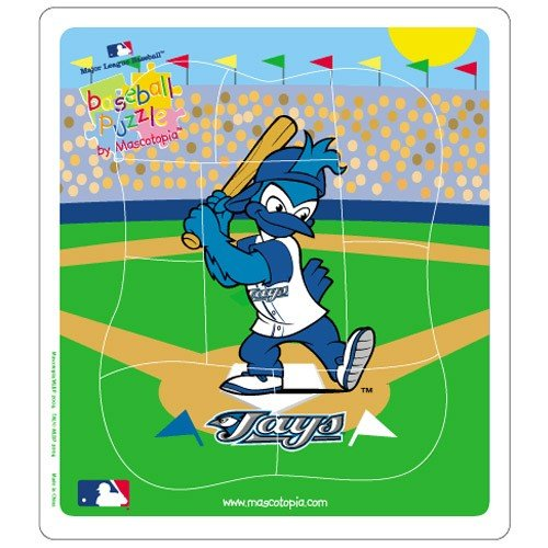 (Hunter Toronto Blue Jays MLB Licensed 9-pc Puzzle for Toddlers)