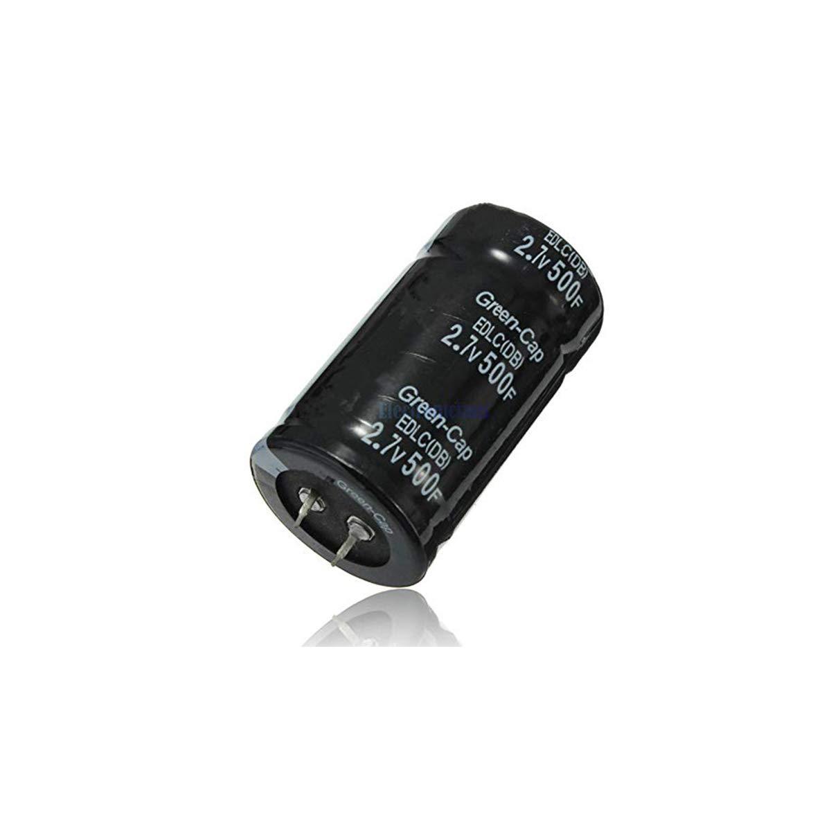 Super Capacitor Drops Automobile Capacitor Through General Orifice 2Pcs 2.7V 500F Capacitor Farad Capacitor 35mm 60mm