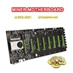 YSINOBEAR-BTC-D37-Mining-Machine-Motherboard-CPU-Group-8-Graphics-Card-Slot-DDR3-Memory-for-Low-Power-VGA-Interface-for-Mining-Machine