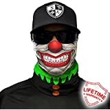 SA Company Face Shield Micro Fiber Protect from Wind, Dirt and Bugs. Worn as a Balaclava, Neck Gaiter & Head Band for Hunting, Fishing, Boating, Cycling, Paintball and Salt Lovers. - Trickster