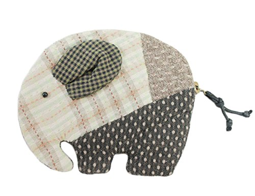 Elephant Purse Easy Beginner Sewing Kit Teen Girl Sewing Project (Green)