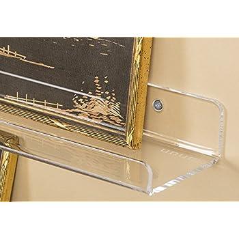 """Amazon.com: Unum 15"""" Acrylic Floating Wall Ledges/Display ..."""