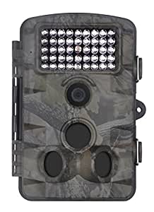"""XIKEZAN 1080P HD Trail & Game Camera,12MP Mini Night Vision Wildlife Camera with Time Lapse & 2.4"""" LCD Screen (Low Glow- Trail Camera)"""