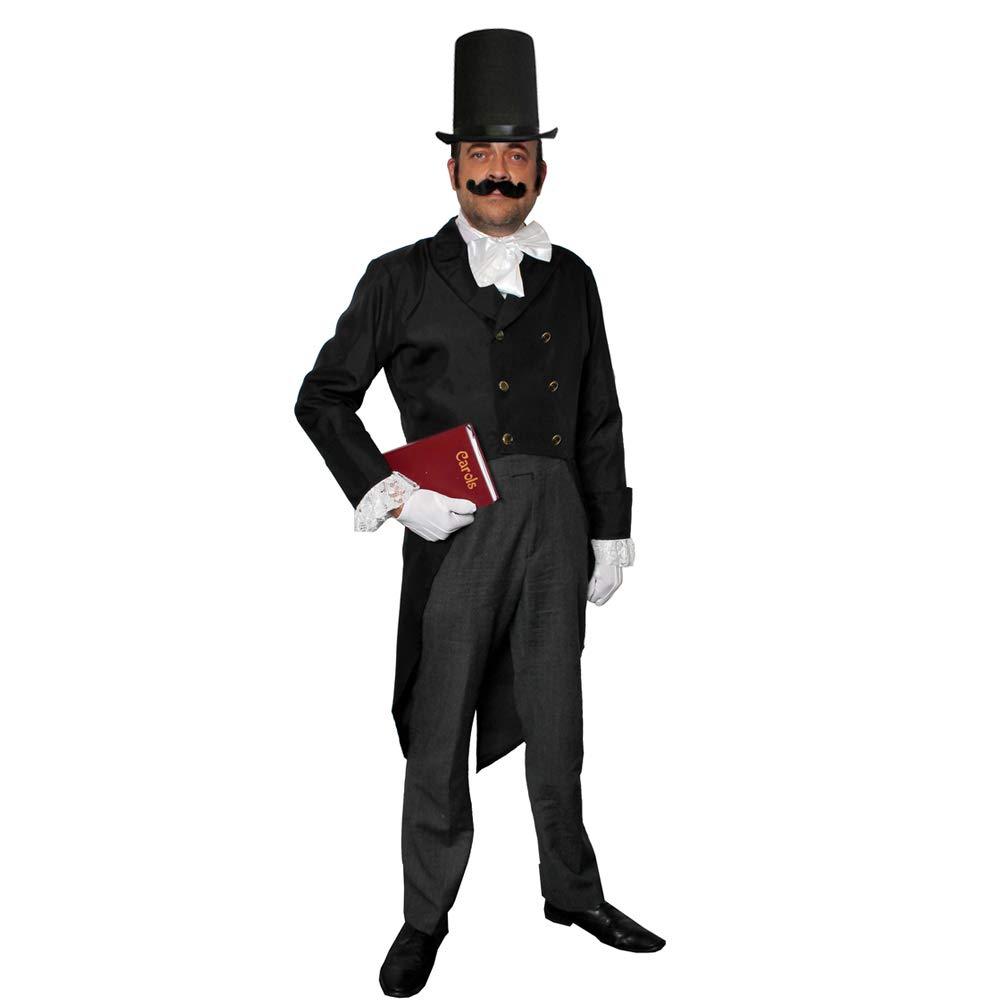 ILOVEFANCYDRESS Disfraz DE Hombre DICKENSIANO para Adulto Conjunto ...