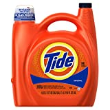 Tide original scent liquid laundry detergent, 150 oz, 96 loads