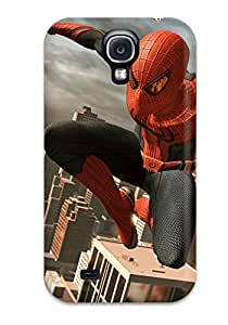 1363270K47975049 Tpu Shockproof Scratcheproof The Amazing Spider-man 18 Hard Case Cover For Galaxy S4
