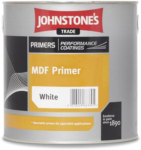 2.5 LTR JOHNSTONE'S MDF PRIMER BRILLIANT WHITE Johnstone' s
