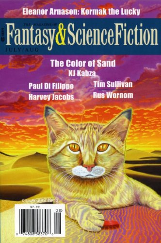 The Magazine of Fantasy & Science Fiction July/August 2013 (The Magazine of Fantasy & Science Fiction Book 124)