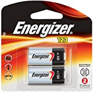 Energizer EL123APB-2 3-Volt Lithium Photo Battery (2-Pack)