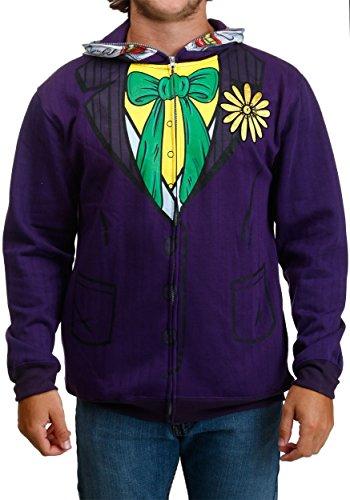 Joker Face Costume Hoodie-