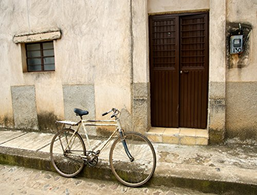 Bicycle in Mexico BIG Art Photo by Verlangieri by