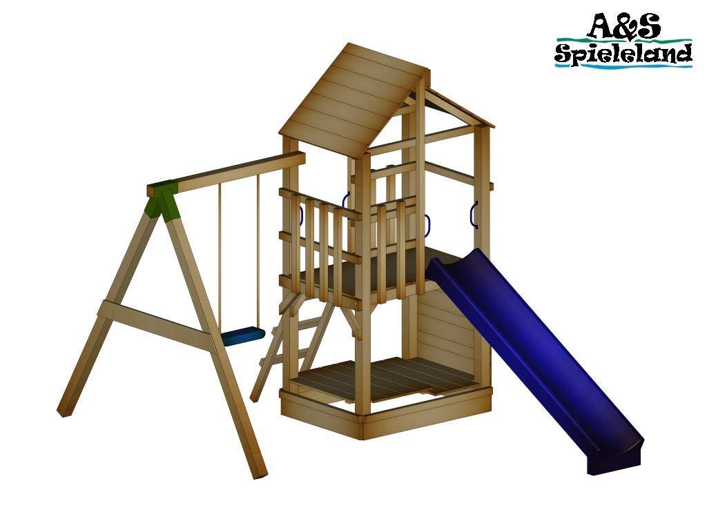 Klettergerüst Xxl : Xxl klettergerüst m kletterturm mit kletternetz reckstange