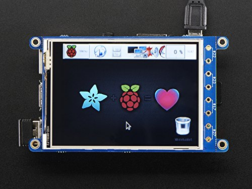 PiTFT Plus 3.2in Touchscreen for Raspberry Pi