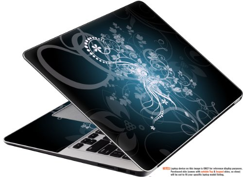 """Decalrus - Decal Skin Sticker for Lenovo IdeaPad G510 with 15.6"""" Screen (NOTES: Compare your laptop to IDENTIFY image on this listing for correct model) case cover wrap LEIdeapadG510_TOP2PCS-46"""