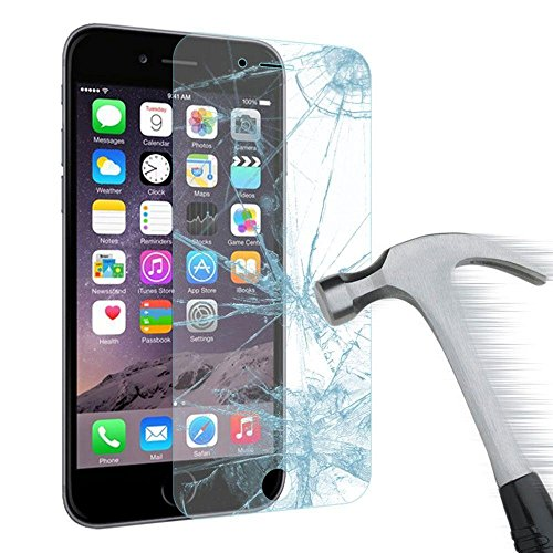 Vergiano iPhone 6, iPhone 6S, iPhone 7 Premium Tempered Glass Screen Protector, 4.7in HD Waterproof Ballistic Glass .2mm - Maximize Protection 99.99% Anti-Glare Clarity 3D Touchscreen 9H Hardness