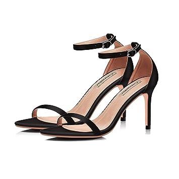 Nude Avec 5cm Chaussures Talons HautsUne Boucle 8 NoirCouleur 8wONmn0v