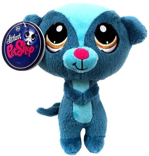 Littlest Pet Shop 6 Inch Plush Pet Figure Sunil Nevla Mongoose ()