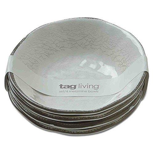 Tag Veranda Melamine Bowls - Set of 4 by Tag Furnishings