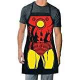 ICUP Marvel - Iron Man Be The Hero Character Adult Size 100% Cotton Adjustable Black Apron