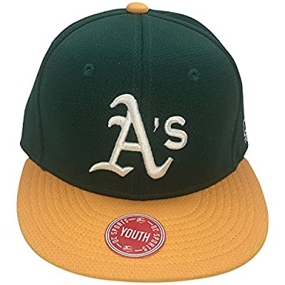 OC Sports MLB Oakland Athletics Youth Flatbill Adjustable Hat from OC Sports