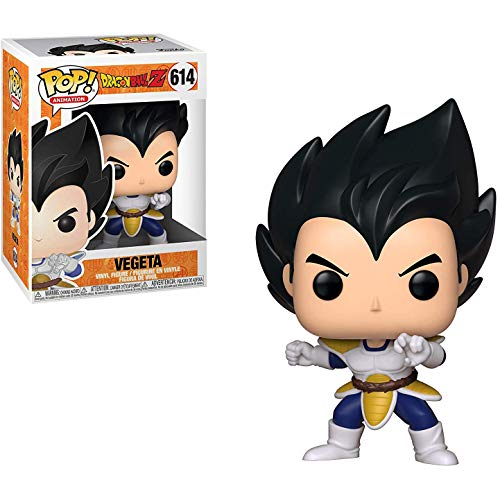 Funko Vegeta Pop Animation Vinyl Figure & 1 Compatible Graphic Protector Bundle (39697 - B)