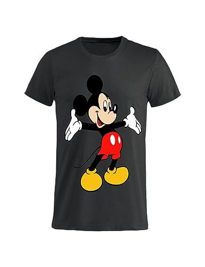 Tuttoinunclick t shirt uomo donna bambino topolino abbraciatutti