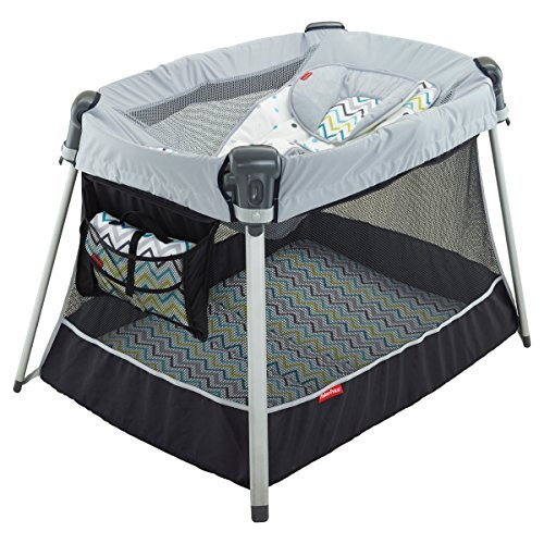 Day & Night Play Ultra-Lite Yard in Grey by Fisher-Price