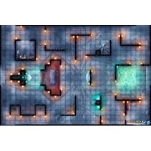 Battlefront Miniature D and D Temple of Lolth Vinyl Game Mat