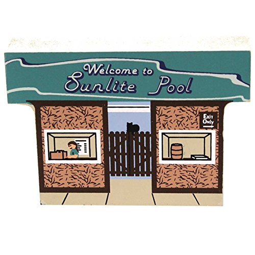 Cats Meow SUNLITE POOL ENTRANCE Wood Cincinnati Coney Island CSTA2992 (Sunlites Collection)
