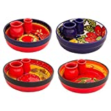Divine Deli Spanish Collection Olive Dip Dish, Various Colours