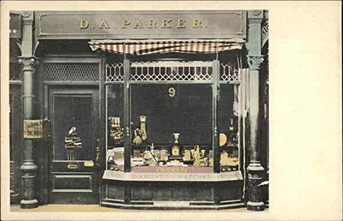 D.A. Parker Jewelry Store Danbury, Connecticut Original Vintage - Danbury Stores