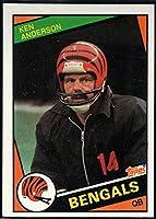 Football NFL 1984 Topps #34 Ken Anderson Bengals