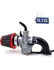 XLYZE PZ22 Carburador 22 mm Carb Tubo de admisión del filtro de aire para 110cc 125cc ATV Quad Pit Pro Dirt Trail Bike SSR Lifan CRF50