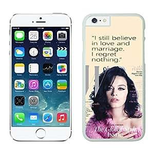 NEW DIY Unique Designed Case For iphone 6 plus Katy Perry 1 iphone 6 plus White 5.5 TPU inch Phone Case 217