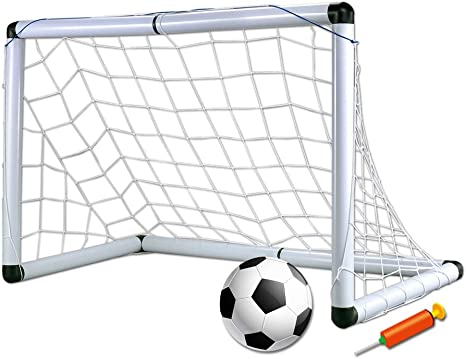Guoyajf GOL De Fútbol Portátil con Balón De Fútbol | Configuración ...