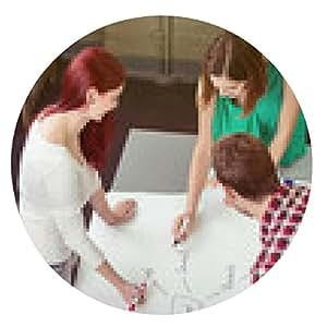 alfombrilla de ratón Crear un gráfico a estudiantes - ronda - 20cm