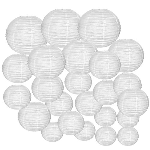 White Led Party Lights For Paper Lanterns in US - 7