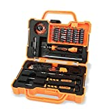 Jakemy Screwdriver Set, 45 in 1 Magnetic Repair Tool Kit, Hardware Screwdriver Kit with Port ble Box for iPhone/Plus, iPad, Computer, Tablet, PC, MacBook, Laptop