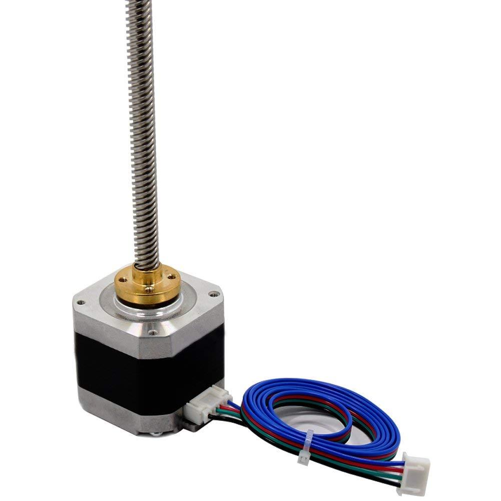Furiga Bipolar Stepper Motor Cables 1M Stepper XH2.54 Terminal Motor Link 4pin-6pin for NEMA 17 for Reprap 3D Printers CNC Machines