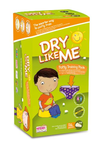 Dry Like Me Toilet Training Pads - 18 x 4 pack (Total 72 Pads) (Packaging May Vary) Toiletry Sales Ltd 6200