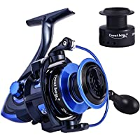 TROUTBOY Spinning Fishing Reel -Unique Main Body, T6...