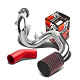 """Toyota Celica GT/GTS ZZT230 2.75"""" Cold Air Intake System (Silver Piping)+K&N RU-1460 Filter"""