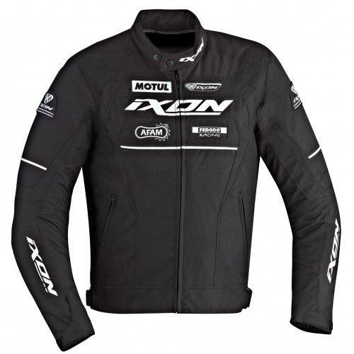 Ixon – Chaqueta Moto – Ixon Matrix negro/blanco