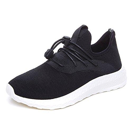 Plano Match deportivo Aire Calzado Nuevo black correr All GUNAINDMX Primavera Zapatillas Ocio nbsp;Calzado para pBqw0wz