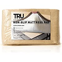 TRU Lite Bedding Extra Strong Non-Slip Mattress Grip Pad - Heavy Duty Rug Gripper- Secures Carpets and Furniture - Easy, Simple Fit - Full Size - Rug Gripper for 4 x 6 Rug
