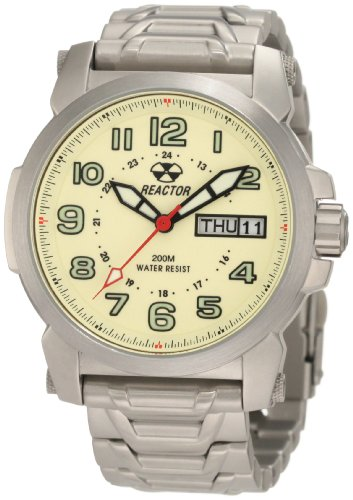 REACTOR Men's 68006 Atom Analog Watch