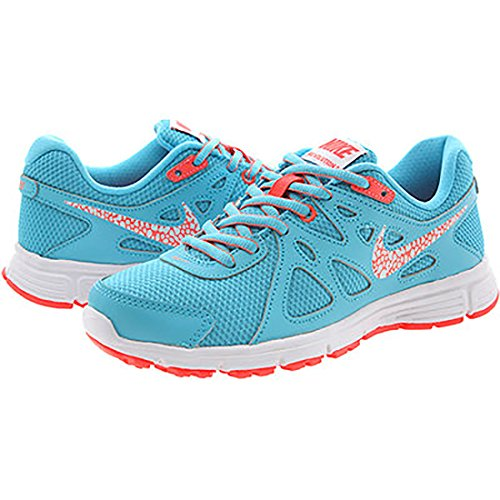 Nike Women's Revolution 2 Running Shoe (9 B(M) US, Clear Water/White/Hot Lava)