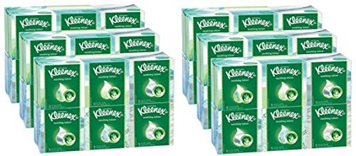 Kleenex Facial Tissues with Lotion, 75 Count (2 (Kimcare Antibacterial Foam)